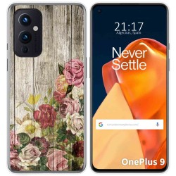 Funda Gel Tpu para OnePlus 9 5G diseño Madera 08 Dibujos