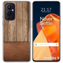 Funda Gel Tpu para OnePlus 9 5G diseño Madera 09 Dibujos
