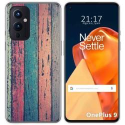 Funda Gel Tpu para OnePlus 9 5G diseño Madera 10 Dibujos
