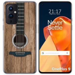 Funda Gel Tpu para OnePlus 9 5G diseño Madera 11 Dibujos