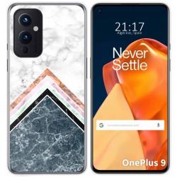 Funda Gel Tpu para OnePlus 9 5G diseño Mármol 05 Dibujos