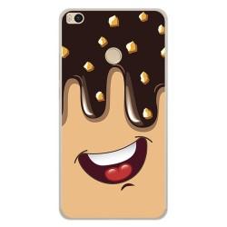 Funda Gel Tpu para Xiaomi Mi Max 2 Diseño Helado Chocolate Dibujos