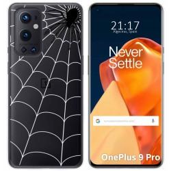 Funda Gel Transparente para OnePlus 9 Pro 5G diseño Araña Dibujos