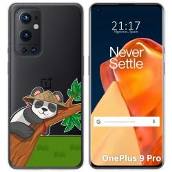 Funda Gel Transparente para OnePlus 9 Pro 5G diseño Panda Dibujos
