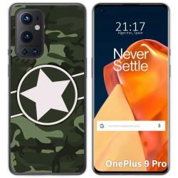 Funda Gel Tpu para OnePlus 9 Pro 5G diseño Camuflaje 01 Dibujos