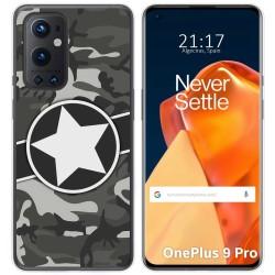 Funda Gel Tpu para OnePlus 9 Pro 5G diseño Camuflaje 02 Dibujos