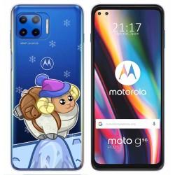 Funda Gel Transparente para Motorola Moto G 5G Plus diseño Cabra Dibujos
