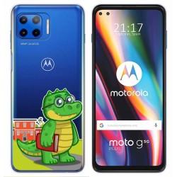 Funda Gel Transparente para Motorola Moto G 5G Plus diseño Coco Dibujos