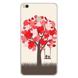 Funda Gel Tpu para Xiaomi Mi Max 2 Diseño Pajaritos Dibujos
