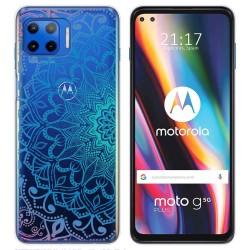 Funda Gel Transparente para Motorola Moto G 5G Plus diseño Mandala Dibujos