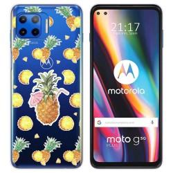 Funda Gel Transparente para Motorola Moto G 5G Plus diseño Piña Dibujos