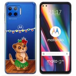 Funda Gel Transparente para Motorola Moto G 5G Plus diseño Suricata Dibujos