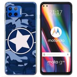Funda Gel Tpu para Motorola Moto G 5G Plus diseño Camuflaje 03 Dibujos