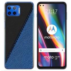 Funda Gel Tpu para Motorola Moto G 5G Plus diseño Cuero 02 Dibujos
