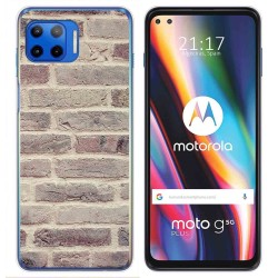 Funda Gel Tpu para Motorola Moto G 5G Plus diseño Ladrillo 01 Dibujos