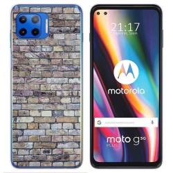 Funda Gel Tpu para Motorola Moto G 5G Plus diseño Ladrillo 02 Dibujos
