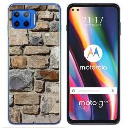 Funda Gel Tpu para Motorola Moto G 5G Plus diseño Ladrillo 03 Dibujos