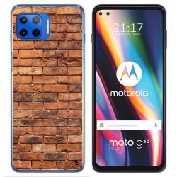 Funda Gel Tpu para Motorola Moto G 5G Plus diseño Ladrillo 04 Dibujos