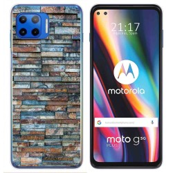 Funda Gel Tpu para Motorola Moto G 5G Plus diseño Ladrillo 05 Dibujos
