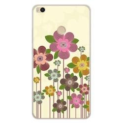 Funda Gel Tpu para Xiaomi Mi Max 2 Diseño Primavera En Flor  Dibujos