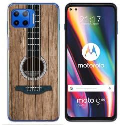 Funda Gel Tpu para Motorola Moto G 5G Plus diseño Madera 11 Dibujos