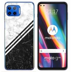 Funda Gel Tpu para Motorola Moto G 5G Plus diseño Mármol 01 Dibujos