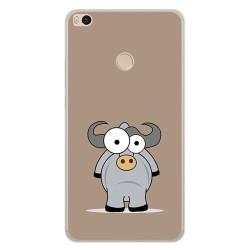 Funda Gel Tpu para Xiaomi Mi Max 2 Diseño Toro Dibujos