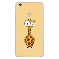 Funda Gel Tpu para Xiaomi Mi Max 2 Diseño Jirafa Dibujos