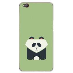 Funda Gel Tpu para Zte Nubia M2 Lite Diseño Panda Dibujos