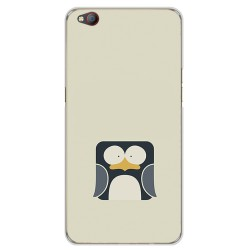 Funda Gel Tpu para Zte Nubia M2 Lite Diseño Pingüino Dibujos