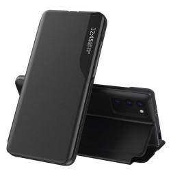Funda Libro Soporte Magnética Eco Piel con Ventana para Xiaomi Mi 10T / MI 10T Pro Negra