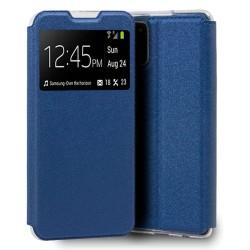 Funda Libro Soporte con Ventana para Samsung Galaxy A32 4G color Azul