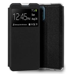 Funda Libro Soporte con Ventana para Xiaomi Mi 11 / Mi 11 Pro Color Negra