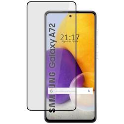 Protector Cristal Templado Completo 5D Full Glue Negro para Samsung Galaxy A72 Vidrio
