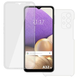 Funda Completa Transparente Pc + Tpu Full Body 360 para Samsung Galaxy A32 5G
