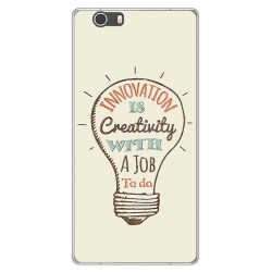 Funda Gel Tpu para Elephone M2 Diseño Creativity Dibujos