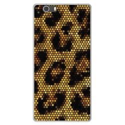 Funda Gel Tpu para Elephone M2 Diseño Leopardo Dibujos