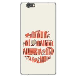 Funda Gel Tpu para Elephone M2 Diseño Mundo Libro Dibujos