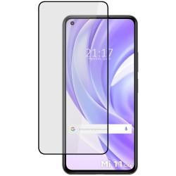 Protector Cristal Templado Completo 5D Full Glue Negro para Xiaomi Mi 11 Lite