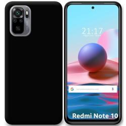 Funda Silicona Gel TPU Negra para Xiaomi Redmi Note 10 / 10S