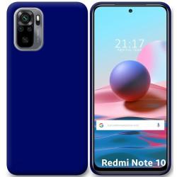 Funda Silicona Gel TPU Azul para Xiaomi Redmi Note 10 / 10S