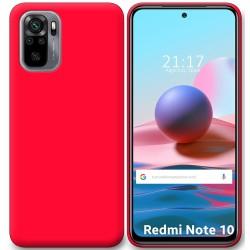 Funda Silicona Gel TPU Rosa para Xiaomi Redmi Note 10 / 10S