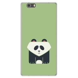Funda Gel Tpu para Elephone M2 Diseño Panda Dibujos