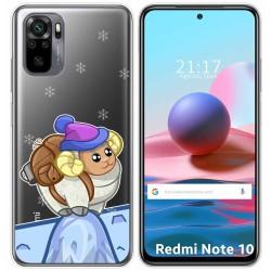 Funda Gel Transparente para Xiaomi Redmi Note 10 / 10S diseño Cabra Dibujos