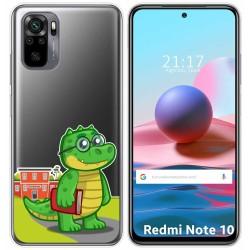Funda Gel Transparente para Xiaomi Redmi Note 10 / 10S diseño Coco Dibujos