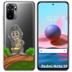Funda Gel Transparente para Xiaomi Redmi Note 10 / 10S diseño Mono Dibujos