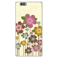 Funda Gel Tpu para Elephone M2 Diseño Primavera En Flor Dibujos