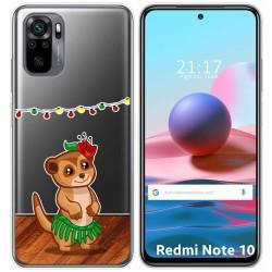 Funda Gel Transparente para Xiaomi Redmi Note 10 / 10S diseño Suricata Dibujos