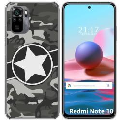 Funda Gel Tpu para Xiaomi Redmi Note 10 / 10S diseño Camuflaje 02 Dibujos