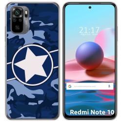 Funda Gel Tpu para Xiaomi Redmi Note 10 / 10S diseño Camuflaje 03 Dibujos